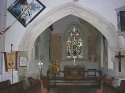 Interior St Mary's Breamore