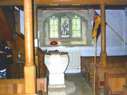 Baptismal font St Mary's