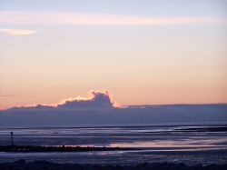 Morecambe Bay Feb 2009 sunset