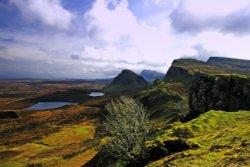 The Quarrang Landscape, Isle of Skye.