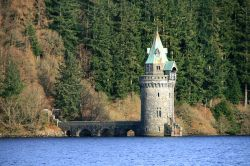 The Straining Tower, Lake Vyrnwy