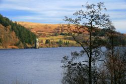 Lake Vyrnwy  from the Western Shore.