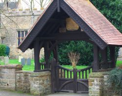 The Lych Gate, St. Mary's Church