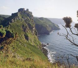 Coastline near Lynton, Devon