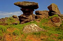 Brimham Rock Formations.