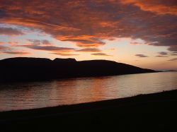 Another beautiful Lochbroom sunset