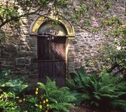 Garden doorway at Bodnant
