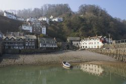 Clovelly, small village...