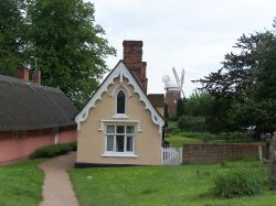 Almshouses in Thaxted