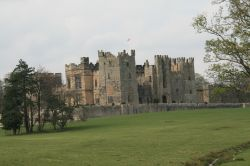 A view of Raby Castle from the A688