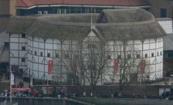 The Globe Theatre From St. Paul's Cathederal