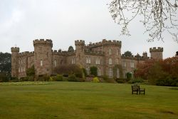 Front view of Cholmondeley Castle