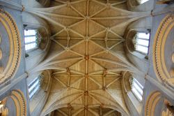 Inside Malmesbury Abbey