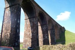 The viaduct at Beckfoot