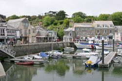 The harbour at Padstow