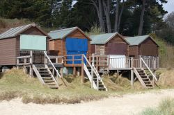 Beach huts at Studland