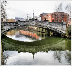 Whitefriar's Bridge over the River Wensum
