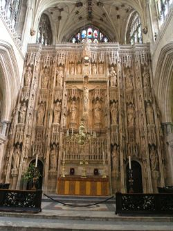 High Altar screen