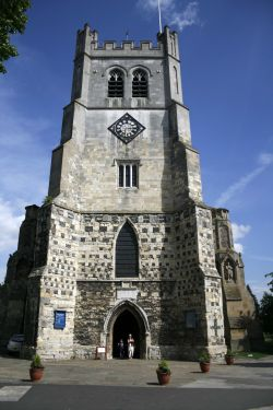 Waltham Abbey Church entrance