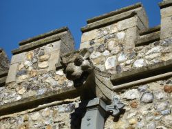 Gargoyle on Necton Church