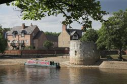 York houseboat