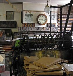 The Printshop at Blists Hill, Shropshire