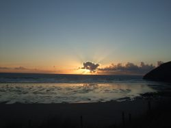 Sunset Mawgan Porth