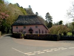 Rose Cottage and tea room.
