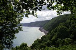 View 3 from the road into Clovelly.