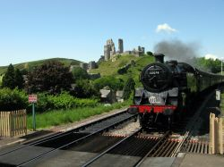 The Steam train to Swanage.
