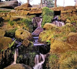 Waterfall at Nether Padley