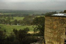 Misty morning over Derbyshire