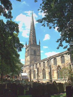 St Mary de Castro Church, Leicester