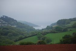 View from the cycle path between Malborough and Salcombe