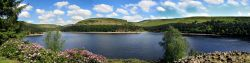 Panorama of Howden Reservoir