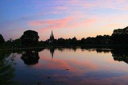 Evening at Stowepool, Lichfield