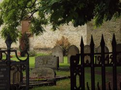 Churchyard, Weston on the Green, Oxfordshire