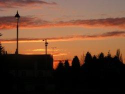 Sunset over Ruislip