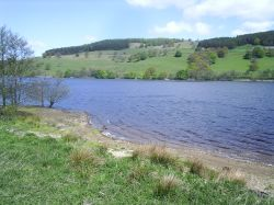 Gouthwaite Reservoir near North Yorks