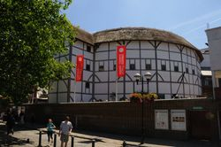 Shakespeare's Globe Theatre - June 2009