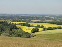 View over Uffington, Oxon