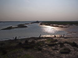 The River Crouch at North Fambridge, Essex, England