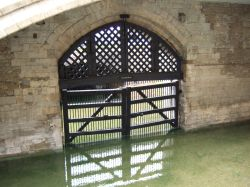 Traitor's Gate in the Tower of London Wallpaper