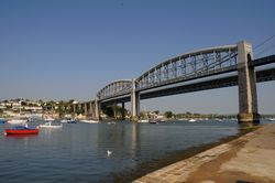 Royal Albert Rail Bridge - Saltash - June 2009 Sunny Day
