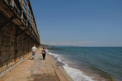 Dawlish lower promenade - June 2009