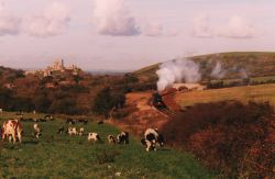 Steam Railway near Corfe Castle