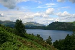 Derwentwater from the west bank.