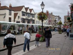 Market day in Wells