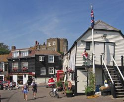 The Quayside at Broadstairs, Kent