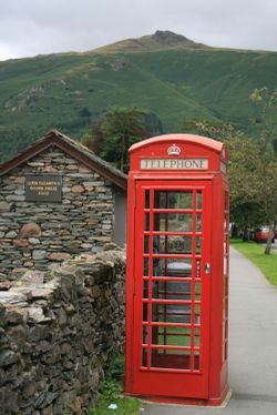 Phone box in Grasmere